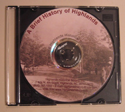 DVD Cover Image. Title: A Brief History of Highlands, Author: Randolph P. Shaffner and Katie Brugger
